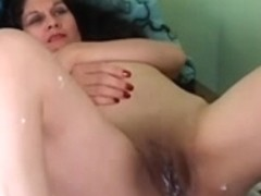 Adorable aged lalin girl receives her cum-hole bald